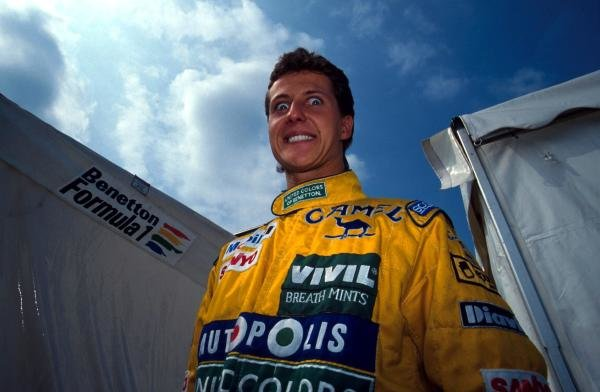 Michael Schumacher (GER) made a surprise switch from Jordan to Benetton for only his second Grand Prix, displacing Roberto Moreno (BRA).  Formula One World Championship, Italian Grand Prix, Monza, 8 September 1991 Catalogue Ref.: 10-085 Sutton Motorsport Images Catalogue