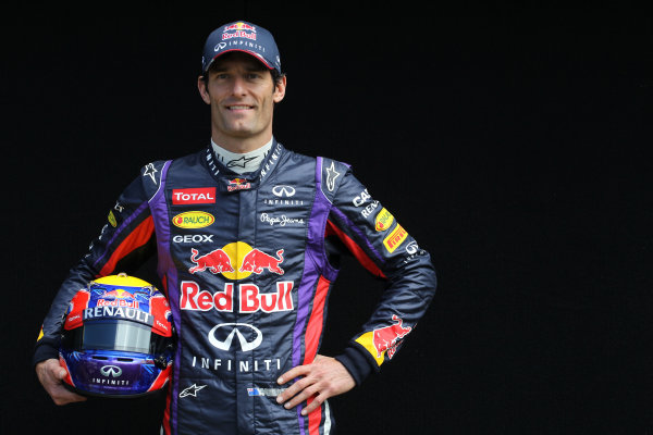 Albert Park, Melbourne, Australia Thursday 14th March 2013 Mark Webber, Red Bull Racing World Copyright: XPB/  ref: Digital Image PHOTO4_477488