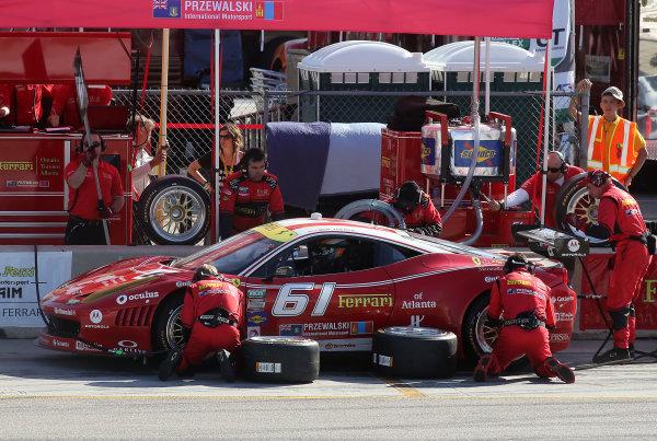18 20 April, 2013, Braselton, Georgia USA The #61 Ferrari Of