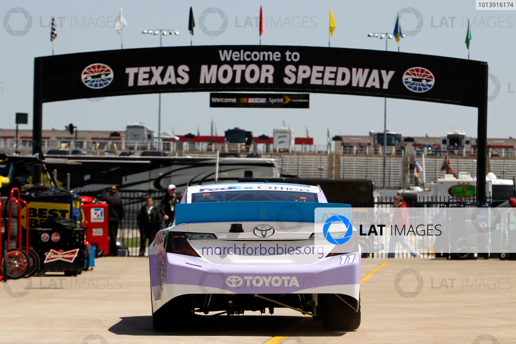 11-13 April, 2013, Fort Worth, Texas USA Brian Vickers, FedEx Office/March of Dimes Toyota Camry ©2013, Matthew T. Thacker LAT South USA .