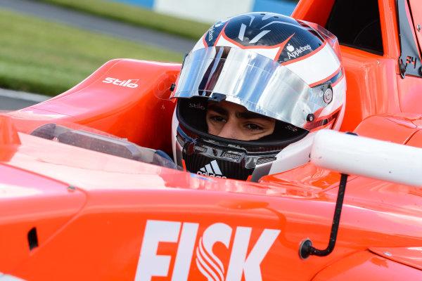 2016 MSA Formula Donington Park, 16th-17th April 2016, Rafael Martins (BRA) TRS Arden MSA Formula  World copyright. Jakob Ebrey/LAT Photographic