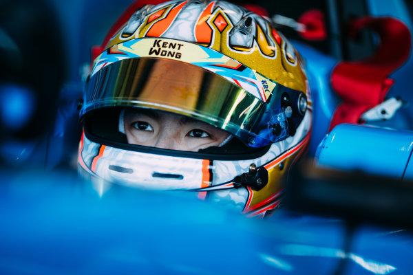 2016 GP3 Series Testing. Estoril, Portugal. Thursday 24 March 2016. Hongli Ye (CHN) Jenzer Motorsport World Copyright: Malcolm Griffiths/LAT Photographic. ref: Digital Image F80P4766