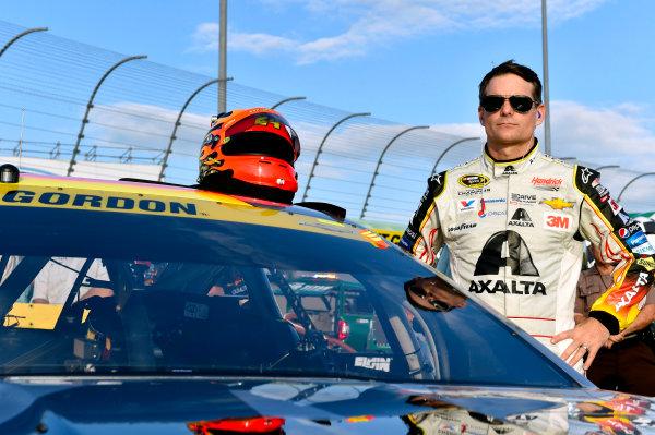 20-22 November, 2015, Homestead, Florida USA Jeff Gordon on the grid for his final race of his career ? 2015, Nigel Kinrade LAT Photo USA