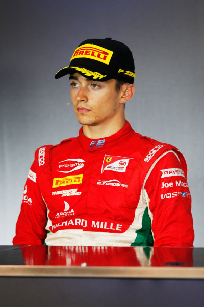 Red Bull Ring, Spielberg, Austria. Saturday 8 July 2017 Charles Leclerc (MCO, PREMA Racing)  Photo: Portlock/FIA Formula 2 ref: Digital Image _L5R3811