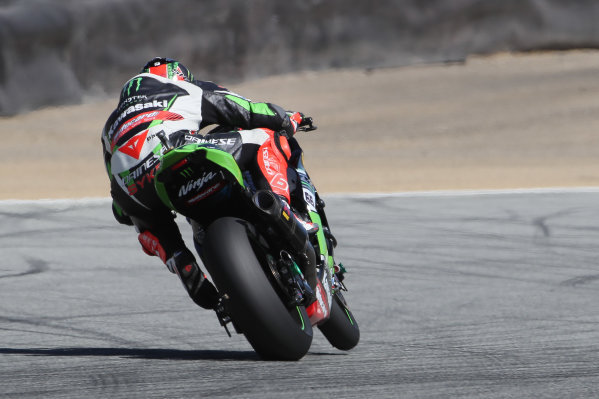 2017 Superbike World Championship - Round 8 Laguna Seca, USA. Friday 7 July 2017 Tom Sykes, Kawasaki Racing World Copyright: Gold and Goose/LAT Images ref: Digital Image 682941