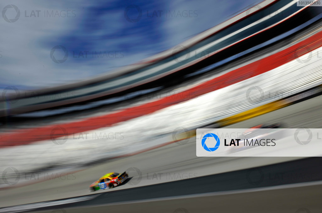 18-20 March 2011, Bristol, Tennessee, USAKyle Busch and Denny Hamlin©2011, LAT SouthLAT Photo, USA