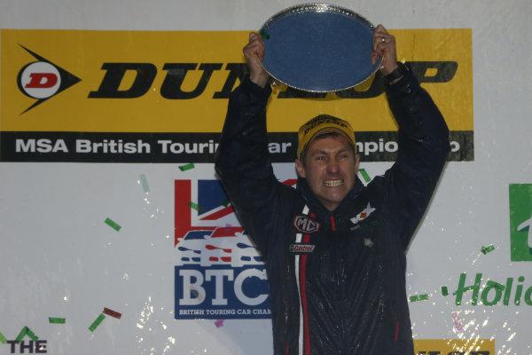 2014 British Touring Car Championship, Brands Hatch, Kent. 11th-12th October 2014, MG Manufacturers Champions World copyright: Jakob Ebrey/LAT Photographic
