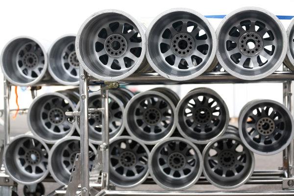 2014 GP3 Series. Round 8.   Sochi Autodrom, Sochi, Russia.  Wednesday 8 October 2014. Wheel rims Photo: Sam Bloxham/GP3 Series Media Service. ref: Digital Image _SBL5918