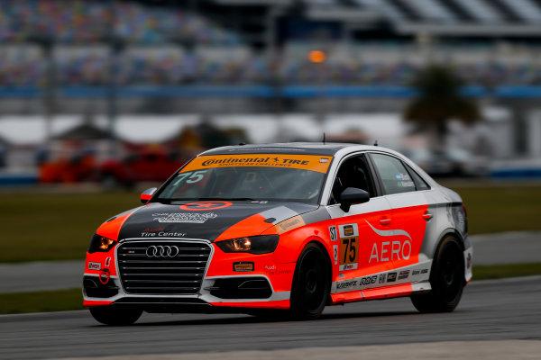 5-8 January, 2017, Daytona Beach, Florida USA 75, Audi, Audi S3, ST, Roy Block ?2017, Jake Galstad LAT Photo USA