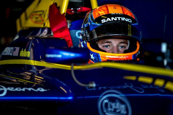 2016 GP3 Series Test 5. Yas Marina Circuit, Abu Dhabi, United Arab Emirates. Wednesday 30 November 2016. Santino Ferrucci (USA, DAMS)  Photo: Zak Mauger/GP3 Series Media Service. ref: Digital Image _X0W1814