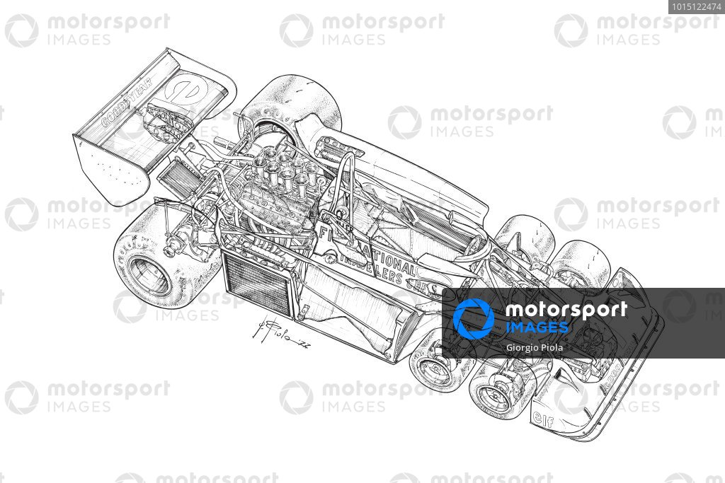 Tyrrell P34 1977 detailed overview