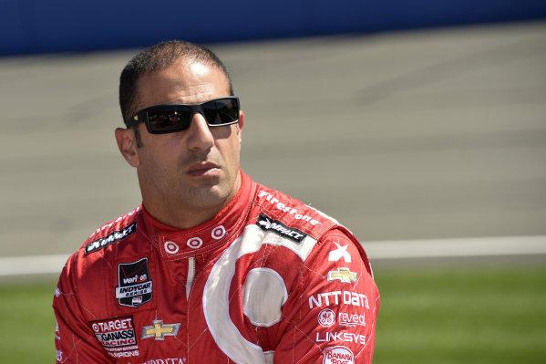 Tony Kanaan (BRA) Target Ganassi Racing.Verizon IndyCar Series, Rd18, MAVTV 500, Auto Club Speedway, Fontana, USA, 29-30 August 2014.