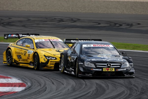 Round 6 - Moscow Raceway, Moscow, Russia  3rd - 4th August 2013  Robert Wickens (CAN) Mercedes AMG DTM-Team HWA DTM Mercedes AMG C-Coupé World Copyright: XPB Images / LAT Photographic  ref: Digital Image 2774721_HiRes