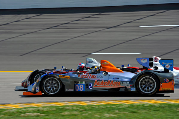6-7 June, 2014, Kansas City, Kansas USA 08, Chevrolet, ORECA FLM09, PC, Chris Cumming, Alex Tagliani and 38, Chevrolet, ORECA FLM09, PC, David Ostella ?2014, F. Peirce Williams LAT Photo USA