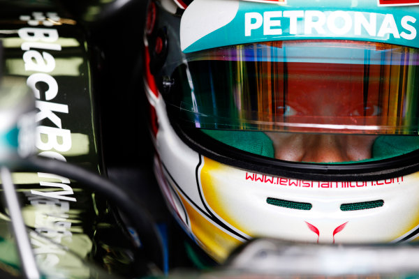 Red Bull Ring, Spielberg, Austria. Saturday 21 June 2014. Lewis Hamilton, Mercedes AMG. World Copyright: Charles Coates/LAT Photographic. ref: Digital Image _N7T1606