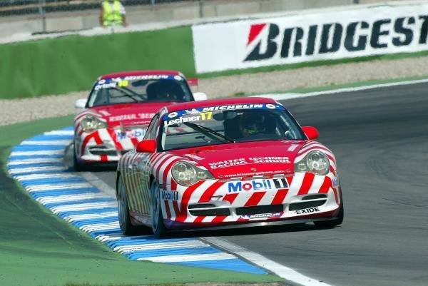 Walter Lechner Junior (AUT) Walter Lechner Racing.Porsche Supercup, Rd8, Hockenheim, Germany,3 August 2003.DIGITAL IMAGE