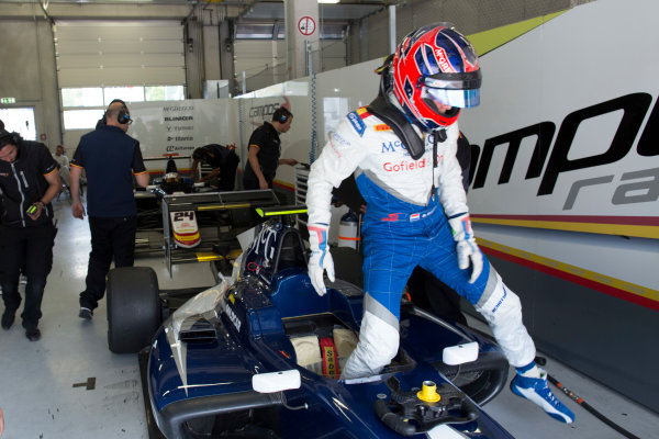 2016 GP3 Series Testing.  Spielberg, Austria. Red Bull Ring,  Wednesday 8th June 2016 . Steijn Schothorst (NED, Campos Racing). Portrait.  Photo: Alastair Staley/GP3 Media Service  ref: 585A9127