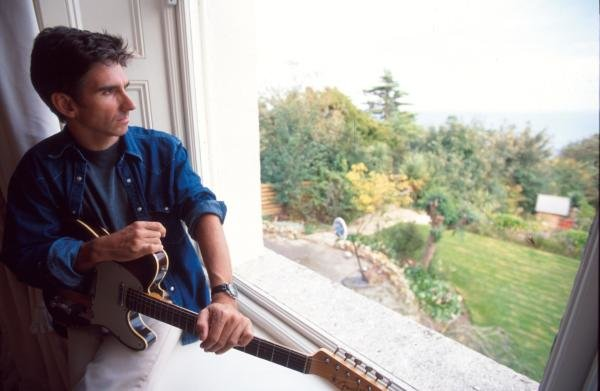 Damon Hill relaxes at home in Dublin, Ireland.Formula One Drivers At Home.