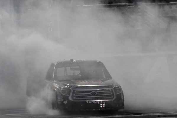 2017 NASCAR Camping World Truck Series - Active Pest Control 200 Atlanta Motor Speedway, Hampton, GA USA Saturday 4 March 2017  World Copyright: Rusty Jarrett/LAT Images ref: Digital Image 17ATL1rj_2298