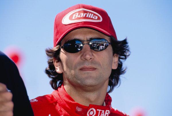1997 PPG CART World Series.Laguna Seca, California, USA.6-7 September 1997. Alessandro Zanardi (Chip Ganassi Racing) 3rd position.World Copyright - LAT Photographic
