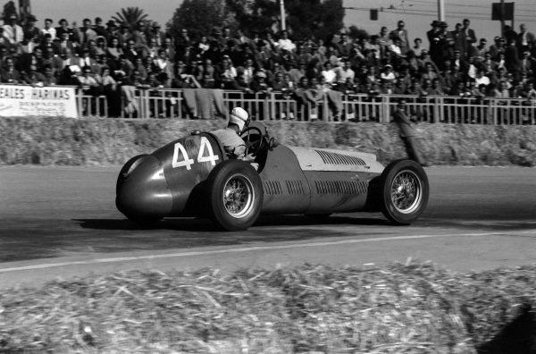 Paco Godia, Maserati 4CLT-48.
