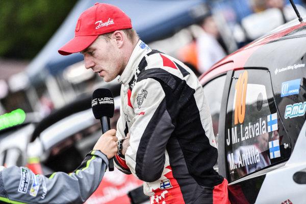 Jari-Matti Latvala (FIN), Toyota Gazoo Racing WRC at World Rally Championship, Rd13, Rally Australia, Day Three, Coffs Harbour, New South Wales, Australia, 19 November 2017.
