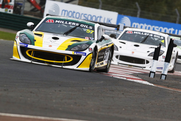 Gus Burton - Century Motorsport Ginetta G55