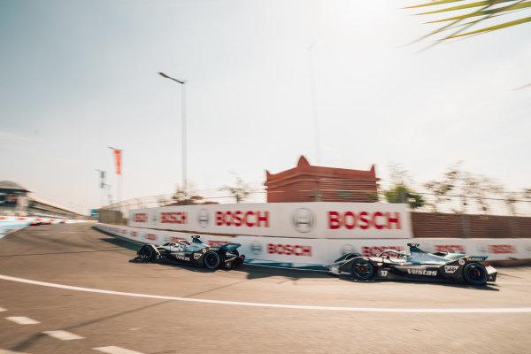 Stoffel Vandoorne (BEL), Mercedes Benz EQ, EQ Silver Arrow 01 and Nyck De Vries (NLD), Mercedes Benz EQ, EQ Silver Arrow 01