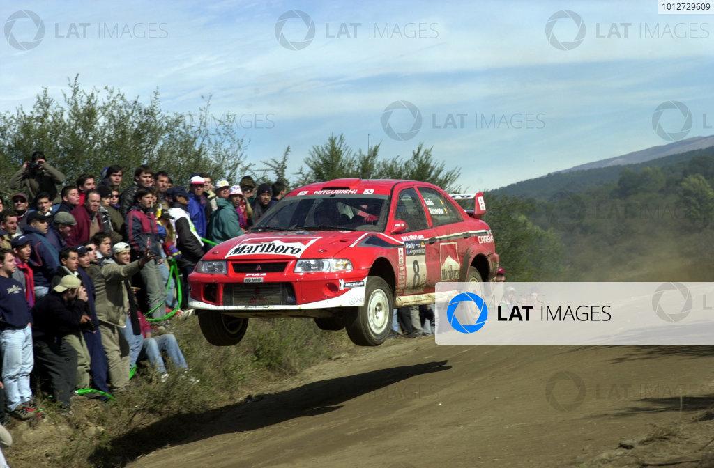 2001 World Rally Championship. Argentina