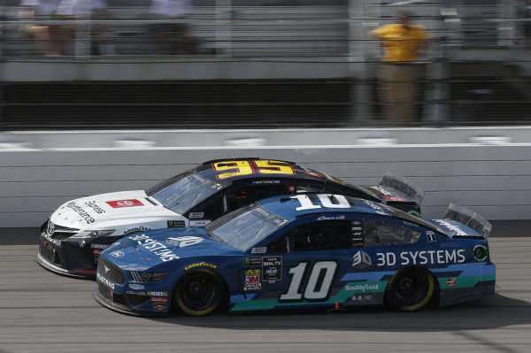 #10: Aric Almirola, Stewart-Haas Racing, Ford Mustang 3D Systems #95: Matt DiBenedetto, Leavine Family Racing, Toyota Camry Toyota Express Maintenance