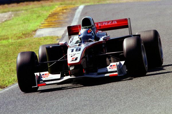2001 Formula Nippon ChampionshipMine, Japan. 23rd September 2001.Race winner, action.World Copyright: Yasushi Ishihara/LAT Photographicref: Digital Image Only