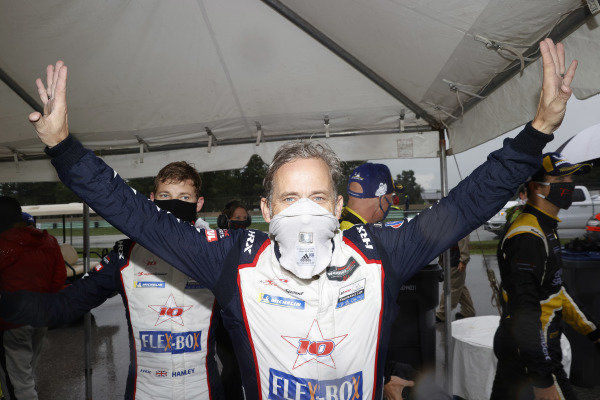 #81 DragonSpeed USA ORECA LMP2 07, LMP2: Henrik Hedman, Ben Hanley, winners, celebration