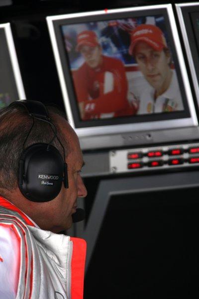 2007 Italian Grand Prix - Friday PracticeAutodromo di Monza, Monza, Italy.7th September 2007.Ron Dennis, Team Principal, McLaren Mercedes. Portrait.World Copyright: Charles Coates/LAT Photographicref: Digital Image ZK5Y1401