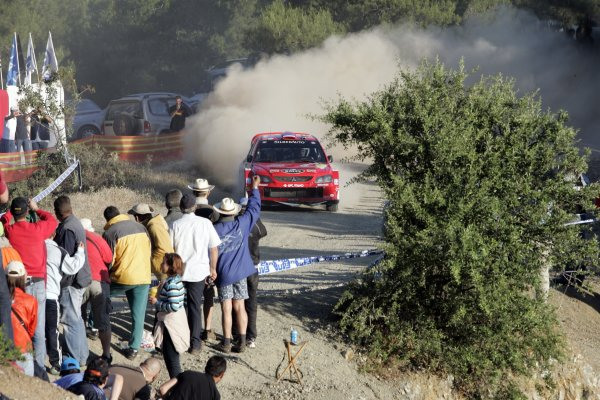 2007 FIA World Rally ChampionshipRound 8Acropolis Rally of Greece31/5-- 3/6  2007Urmo Aava, Mitsubishi, Action.Worldwide Copyright: McKlein/LAT