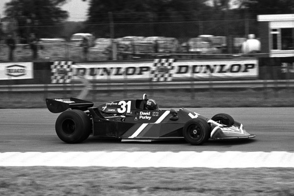 Silverstone, England. 14 - 16 July 1977.