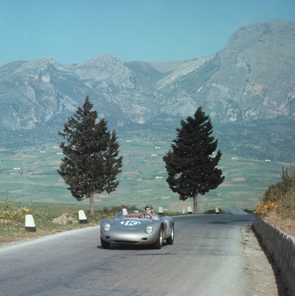 Little Madonie Circuit, Sicily, Italy. 6th May 1962. Rd 5.