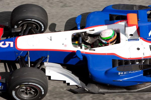 Jerez, Spain. Thursday 8th October. Vladimir Arabadzhiev (BUL, Piquet GP). Action.  World Copyright: Alastair Staley/ GP2 Series Media Service.Ref: _O9T7304 jpg