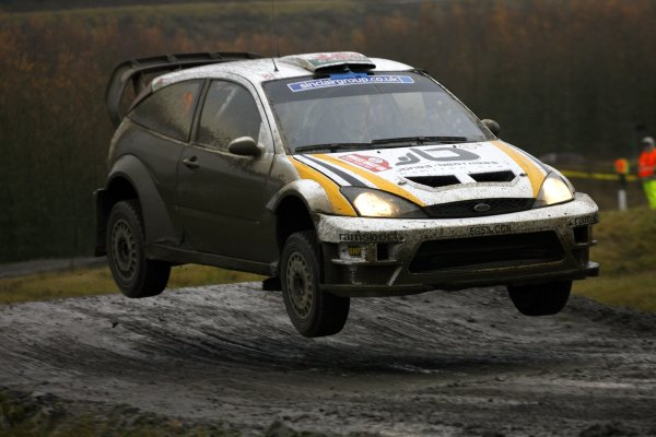 2007 World Rally Championship,Wales Rally GB, 30th November - 2nd December 2007,Gareth Jones, Ford, ActionWorld Copyright: McKlein/LAT Photographic