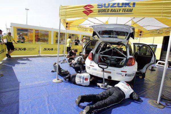 2008 FIA World Rally ChampionshipRound 06Rally d'Italia Sardegna 200815-18 of May 2008Susuki Service service.