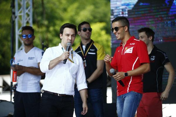 2017 FIA Formula 2 Round 7. Hungaroring, Budapest, Hungary. Saturday 29 July 2017. Antonio Fuoco (ITA, PREMA Racing).  Photo: Andy Hone/FIA Formula 2. ref: Digital Image _ONY0695