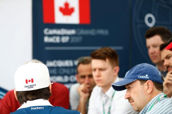 Circuit Gilles Villeneuve, Montreal, Canada. Saturday 10 June 2017. Lance Stroll, Williams Martini Racing. World Copyright: Glenn Dunbar/LAT Images ref: Digital Image _31I6209
