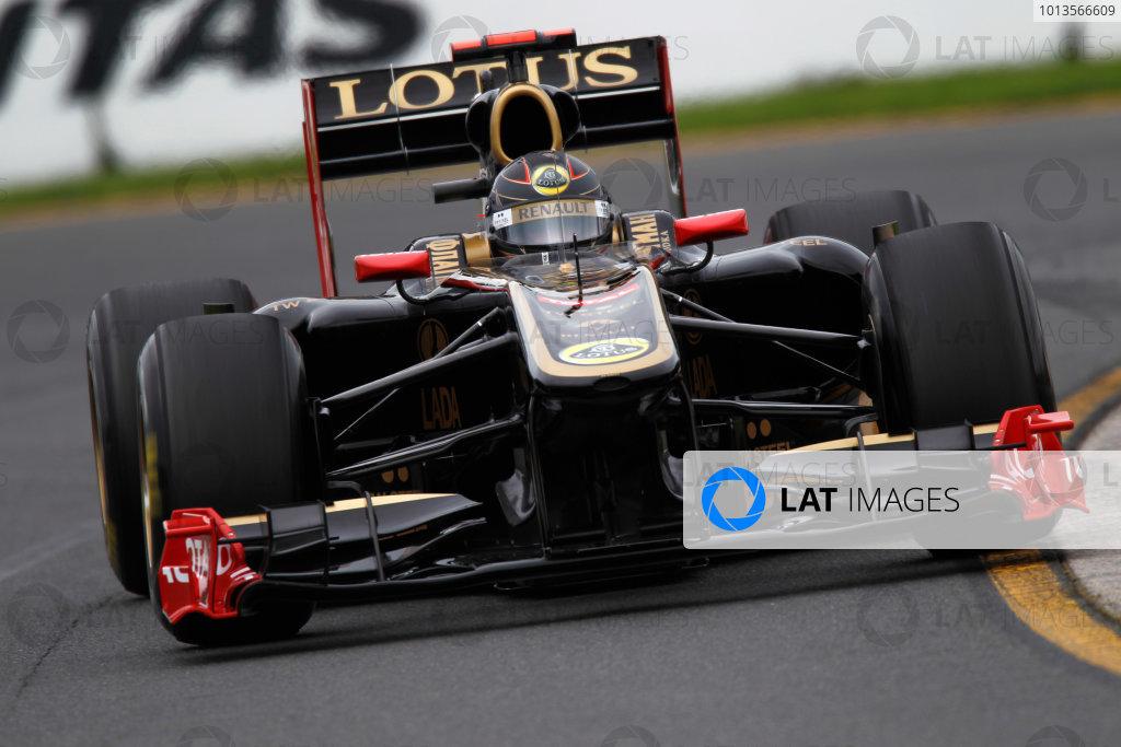 Albert Park, Melbourne, Australia 25th March 2011. Nick Heidfeld, Lotus Renault GP R31. Action.  World Copyright: Andrew Ferraro/LAT Photographic ref: Digital Image _Q0C8222