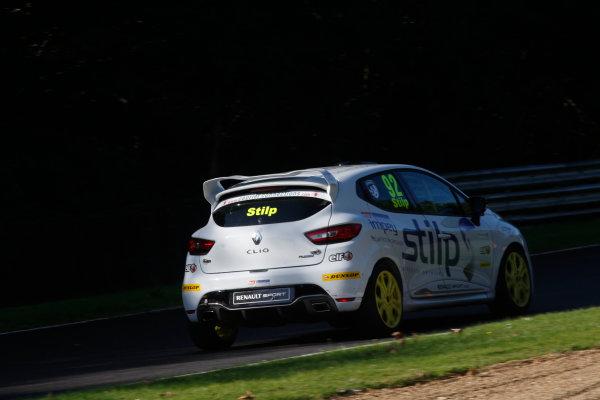 2014 Renault Clio Cup,  Brands Hatch, Kent. 10th - 12th October 2014. Jordan Stilp (GBR) 20Ten Racing Renault Clio Cup. World Copyright: Ebrey / LAT Photographic.