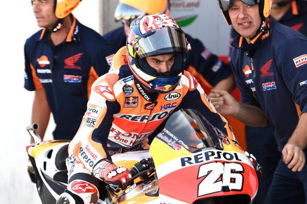 2017 MotoGP Championship - Round 14 Aragon, Spain. Saturday 23 September 2017 Dani Pedrosa, Repsol Honda Team World Copyright: Gold and Goose / LAT Images ref: Digital Image 13627