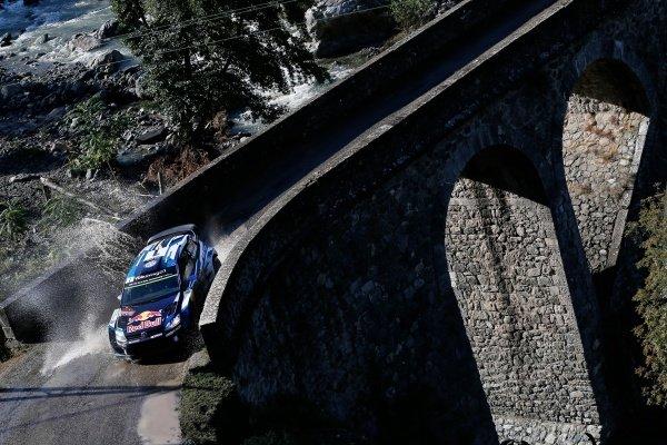 Sebastien Ogier (FRA) / Julien Ingrassia (FRA), Volkswagen Polo R WRC at FIA World Rally Championship, Rd11, Rally Tour De Corse, Day Two, Ajaccio, Corsica, France, 3 October 2015.