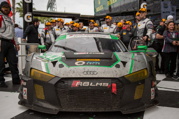 28-31 January, 2016, Daytona Beach, Florida USA 44, Audi, R8 LMS GT3, GTD, John Potter, Andy Lally, Marco Seefried, Rene Rast ?2016, Jake Galstad LAT Photo USA