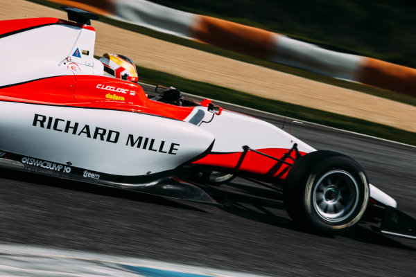 2016 GP3 Series Testing. Estoril, Portugal. Wednesday 23 March 2016. Charles Leclerc (MON) ART Grand Prix   World Copyright: Malcolm Griffiths/LAT Photographic. ref: Digital Image F80P2597