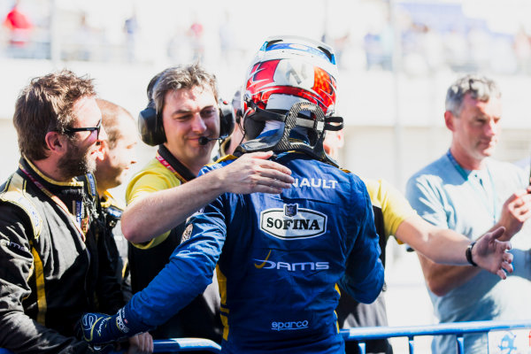 2017 FIA Formula 2 Round 10. Circuito de Jerez, Jerez, Spain. Sunday 8 October 2017. Nicholas Latifi (CAN, DAMS).  Photo: Zak Mauger/FIA Formula 2. ref: Digital Image _X0W2856