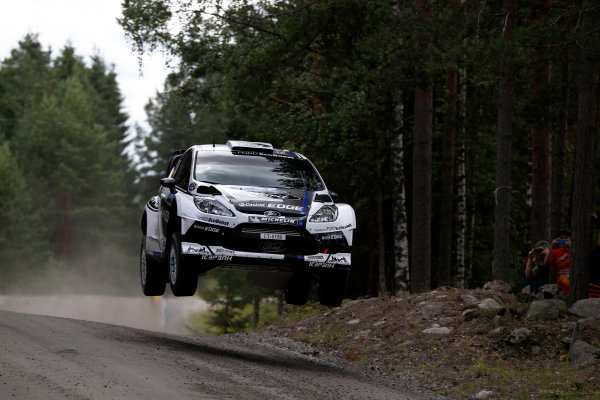 Round 08-Neste Rally Finland 1/8-4/8 2012.Petter Solberg, Ford WRC, Action.Worldwide Copyright: McKlein/LAT