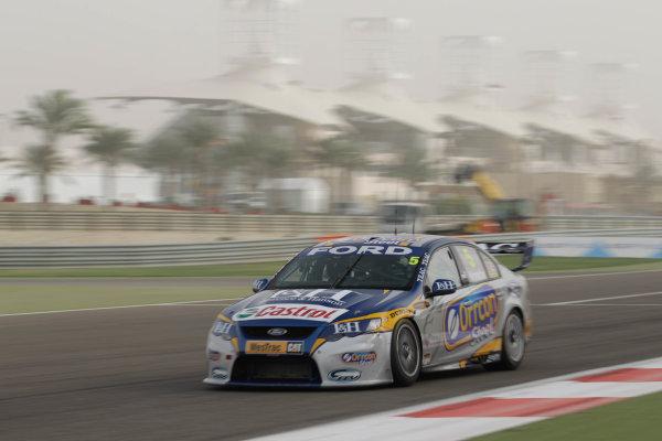 Round 2 - Gulf Air Desert 400Bahrain International Circuit, Sakhir, Bahrain.24th - 27th Febraury 2010.Mark Winterbottom of Ford Performance Racing.World Copyright: Mark Horsburgh/LAT Photographicref: Digital Image 5-Winterbottom-EV02-11488